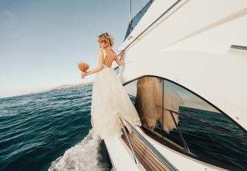 Свадьба на катере или яхте